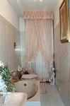 Tende arricciate drappeggi giochi di panneggi vestite la casa con tessuti di pregio - Tende per finestra del bagno ...